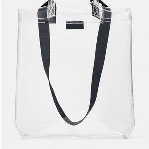 Brand New Zara clear bag